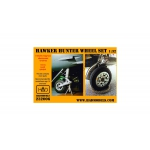 HAD232006 Hawker Hunter resin Wheel set 1:32