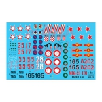 HAD72145 MIG-21 UM decal sheet 1:72